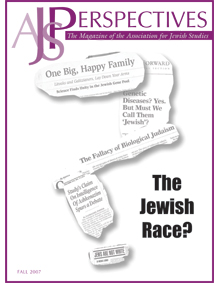 AJS Perspectives: The Jewish Race?